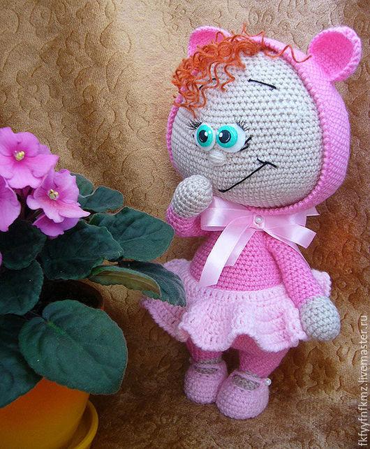 Игрушки животные, ручной работы. Ярмарка Мастеров - ручная работа. Купить Кукла Боня поросенка. Handmade. Розовый, Бонни, холофайбер