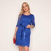 Роскошное платье из кружева 34125