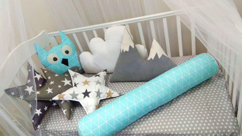 Бортики подушки, Подзоры и юбки для кровати, Балашиха,  Фото №1