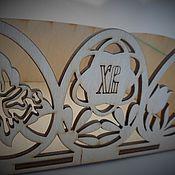 Материалы для творчества ручной работы. Ярмарка Мастеров - ручная работа Пасхальная коробочка Заготовка. Handmade.