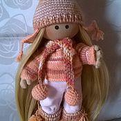Куклы и игрушки ручной работы. Ярмарка Мастеров - ручная работа куколка интерьерная и игровая. вся одежда съемная.. Handmade.