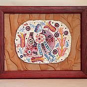 Картины и панно ручной работы. Ярмарка Мастеров - ручная работа Птица Весна. Handmade.