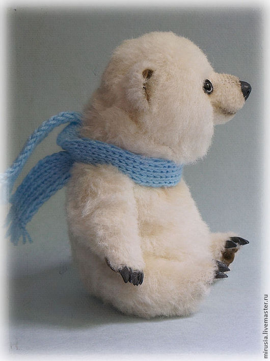 Мишки Тедди ручной работы. Ярмарка Мастеров - ручная работа. Купить Снежок. Handmade. Мишки тедди, белый