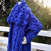 """Пальто ручной работы. Ярмарка Мастеров - ручная работа Пальто """"Магия синего"""". Handmade."""