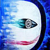 Картины ручной работы. Ярмарка Мастеров - ручная работа Картины: Арктурианец ). Handmade.