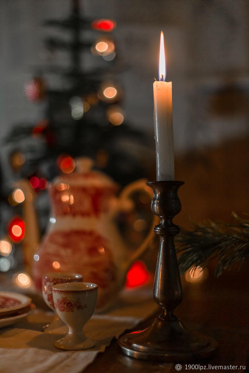 Vintage interior items: candle holder. Austria. Vienna. Up to 1904 year, Vintage interior, St. Petersburg,  Фото №1