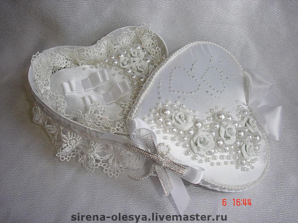 Свадебные шкатулки мастер класс