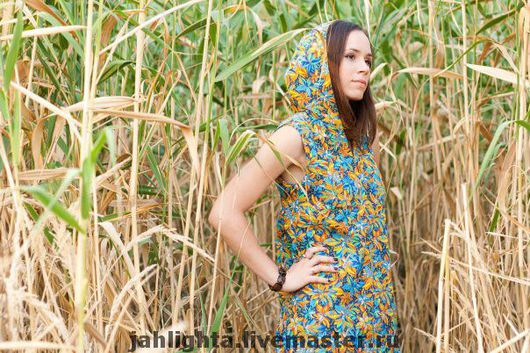 Dresses handmade. Livemaster - handmade. Buy Dress elven hooded.Hood