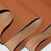 Материалы для творчества handmade. Livemaster - original item Bridge. 1,2-1,4 mm. Brown. Genuine leather cattle. Handmade.