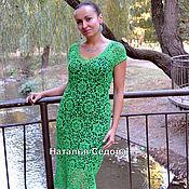 """Одежда ручной работы. Ярмарка Мастеров - ручная работа Платье """"Упоительная зелень"""". Handmade."""