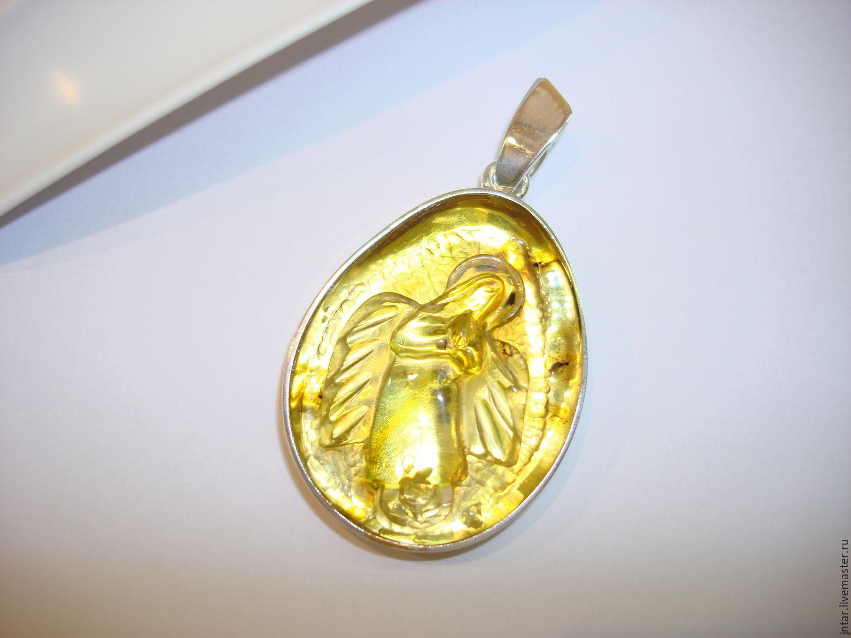 """кулон """"Ангел"""", серебро 925, Подвески, Светлогорск, Фото №1"""