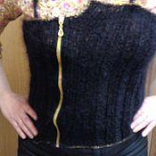 Одежда ручной работы. Ярмарка Мастеров - ручная работа корсет вязаный. Handmade.