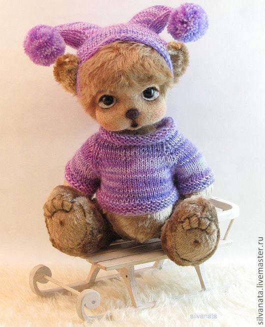 """Мишки Тедди ручной работы. Ярмарка Мастеров - ручная работа. Купить Мишка Тедди Танюшка. """" В ожидании первого снега!"""". Handmade."""