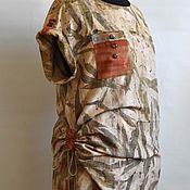 "Одежда ручной работы. Ярмарка Мастеров - ручная работа Блузон ""Аutumn haiku"". Handmade."