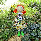 Куклы и игрушки ручной работы. Ярмарка Мастеров - ручная работа Кукла текстильная рыжая осень. Handmade.