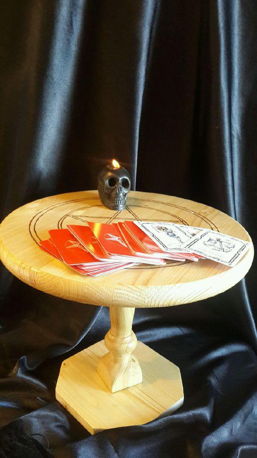 Эзотерические аксессуары ручной работы. Ярмарка Мастеров - ручная работа. Купить Алтарный столик разборный. Handmade. Алтарь, магия