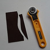 Инструменты ручной работы. Ярмарка Мастеров - ручная работа Нож дисковый для раскроя  28мм. Handmade.