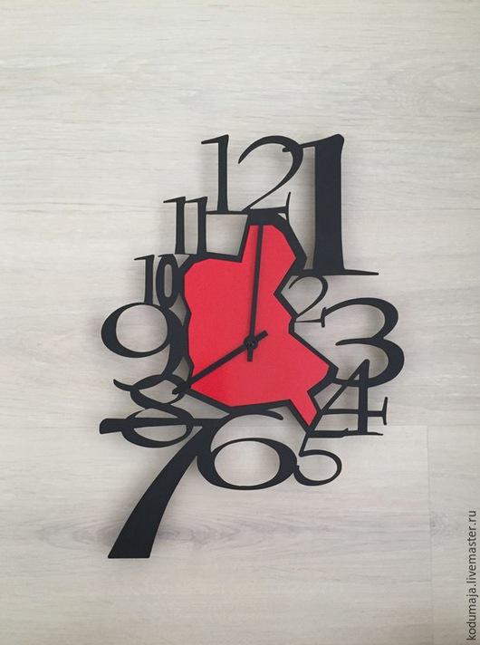 """Часы для дома ручной работы. Ярмарка Мастеров - ручная работа. Купить Часы 36/26см """"Tilk-2"""". Handmade. Настенные часы"""