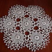 Для дома и интерьера ручной работы. Ярмарка Мастеров - ручная работа Салфетка из ажурных мотивов. Handmade.