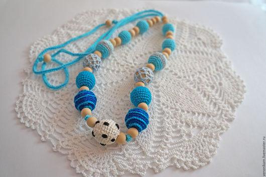 """Слингобусы ручной работы. Ярмарка Мастеров - ручная работа. Купить Слингобусы """" Футболист"""". Handmade. Слингобусы, синий цвет, подарок"""