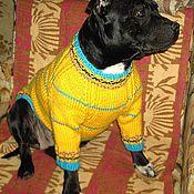 Для домашних животных, ручной работы. Ярмарка Мастеров - ручная работа флиски, комбинезоны - одежда для стаффи. Handmade.