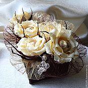Цветы и флористика ручной работы. Ярмарка Мастеров - ручная работа Букет из конфет Шоко-Мокко. Handmade.