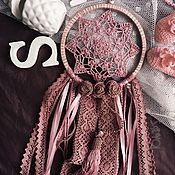 Фен-шуй и эзотерика ручной работы. Ярмарка Мастеров - ручная работа Ловец снов - Розовая зефирка. Handmade.