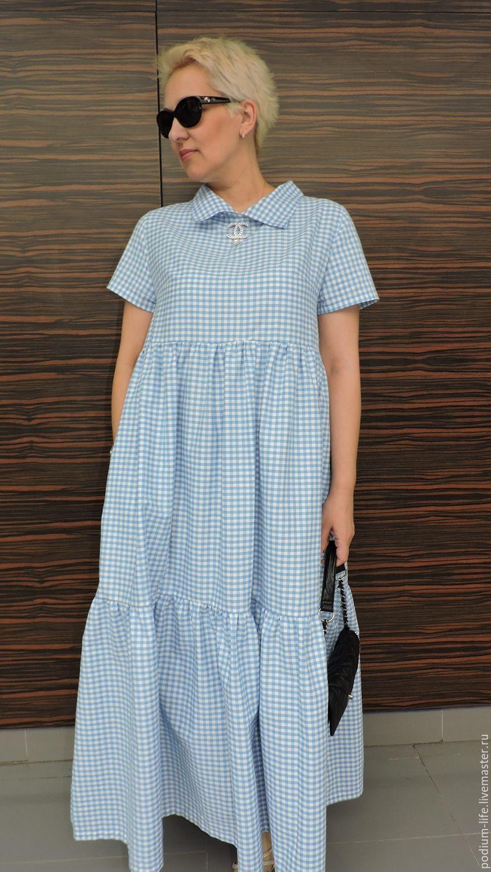 Платье летнее хлопок интернет магазин