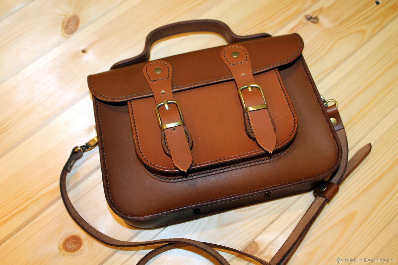 Кожаная сумка - портфель, Сумки, Санкт-Петербург, Фото №1