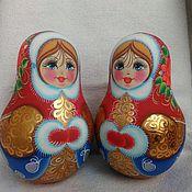 Русский стиль handmade. Livemaster - original item Tumbler with the ringing of a maiden. Handmade.