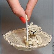 Куклы и игрушки ручной работы. Ярмарка Мастеров - ручная работа Мини Мишка Микро. Handmade.