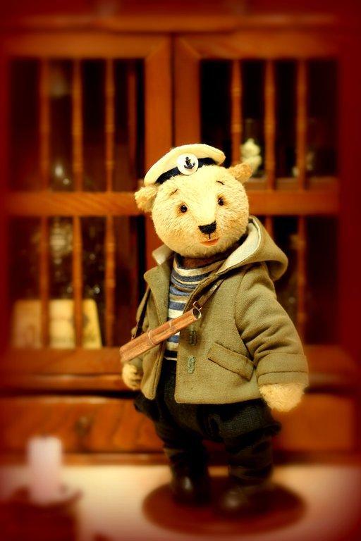 Мишки Тедди ручной работы. Ярмарка Мастеров - ручная работа. Купить Мишка Тедди Морис 26см. Handmade. Мишки тедди