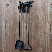 Для дома и интерьера handmade. Livemaster - original item Set for a bath or a fireplace