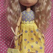 Куклы и игрушки ручной работы. Ярмарка Мастеров - ручная работа кукла -тыквоголовка. Handmade.