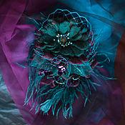 Украшения ручной работы. Ярмарка Мастеров - ручная работа Брошь и Зажим для волос. Handmade.