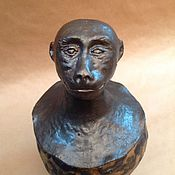 Для дома и интерьера ручной работы. Ярмарка Мастеров - ручная работа Ваза Обезьяна в египетском стиле. Handmade.
