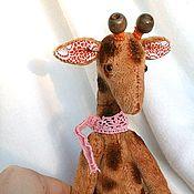 Куклы и игрушки ручной работы. Ярмарка Мастеров - ручная работа жирафик Оливер. Handmade.