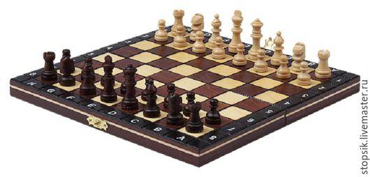 Настольные игры ручной работы. Ярмарка Мастеров - ручная работа. Купить Шахматы Вояж (магнитные)  21894. Handmade. Чёрно-белый