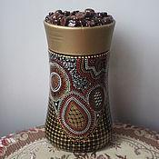 Для дома и интерьера handmade. Livemaster - original item Bank for coffee