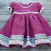 Работы для детей, handmade. Livemaster - original item Dress summer for girl. Handmade.
