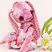 Куклы и игрушки ручной работы. Ярмарка Мастеров - ручная работа зайка Горошка. Handmade.