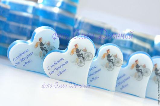 Мыло ручной работы. Ярмарка Мастеров - ручная работа. Купить синяя свадьба. Handmade. Синий, мыло ручной работы
