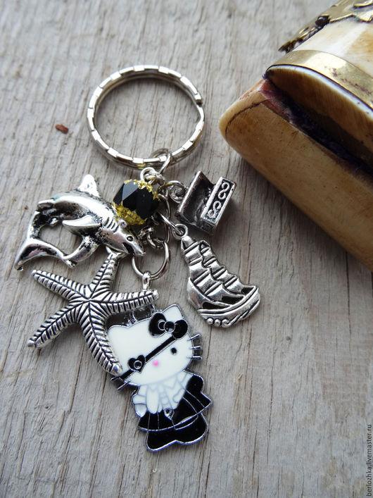 """Брелоки ручной работы. Ярмарка Мастеров - ручная работа. Купить """"Дочь пирата"""" :-) брелок на ключи, брелок в подарок. Handmade."""