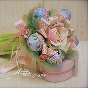 """Цветы и флористика ручной работы. Ярмарка Мастеров - ручная работа Киндер-букет """"Pink"""" для девочки для любимой. Handmade."""