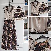 Одежда ручной работы. Ярмарка Мастеров - ручная работа FAMILY LOOK для мамы и дочки. Handmade.