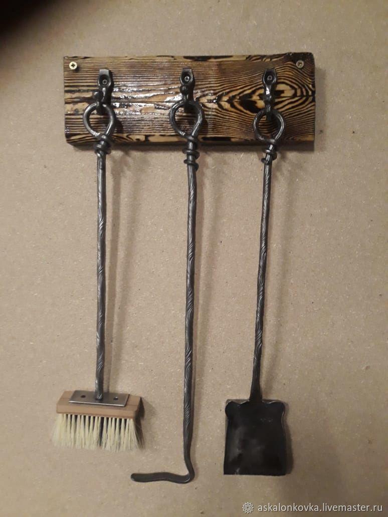 Wall-mounted fireplace set. 3 items, Fireplace Sets, Rybinsk,  Фото №1