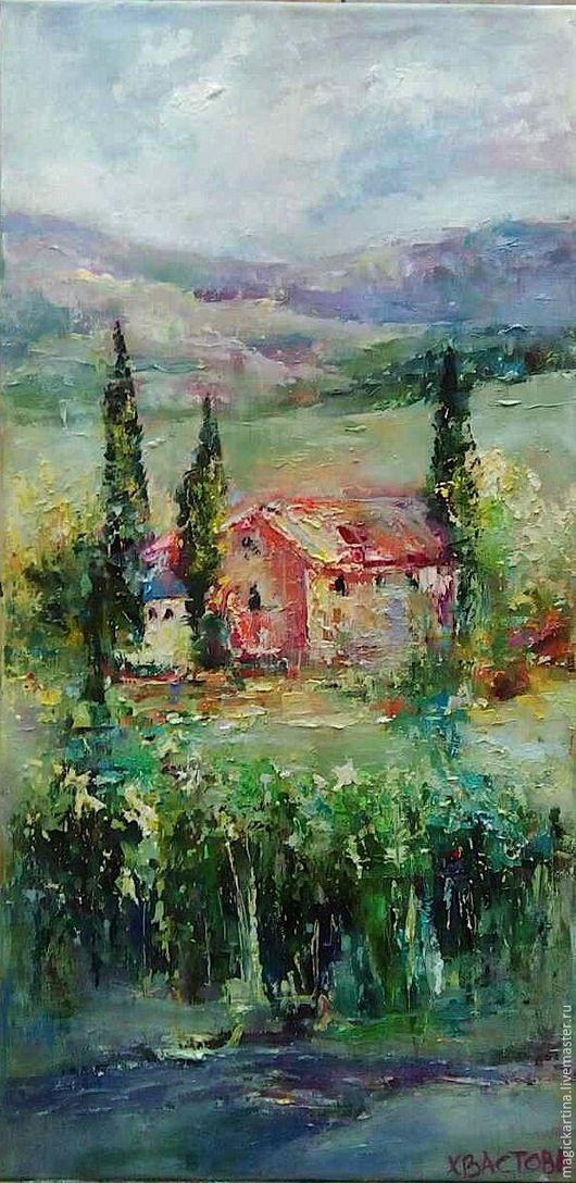 `Прованс` - картина маслом, пейзаж