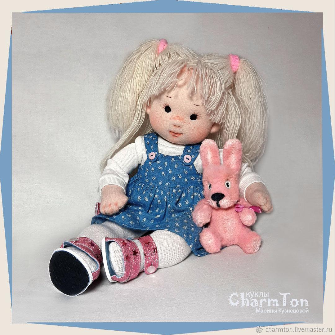 Вальдорфская игровая кукла Рита, Вальдорфские куклы и звери, Клин,  Фото №1