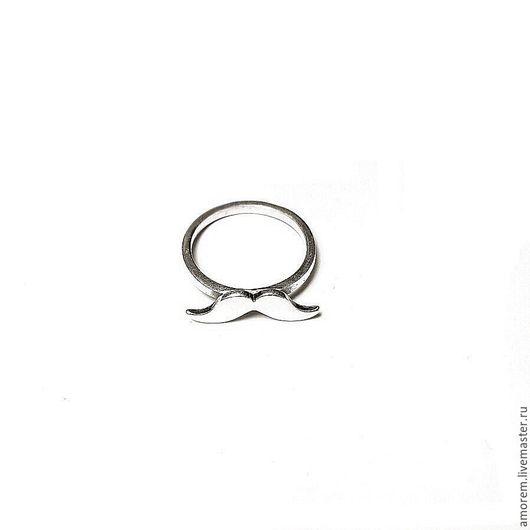 Кольца ручной работы. Ярмарка Мастеров - ручная работа. Купить Кольцо Усы. Handmade. Серебряный, кольцо, хипстер