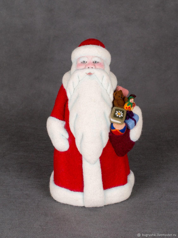 Дед Мороз, Мягкие игрушки, Москва,  Фото №1